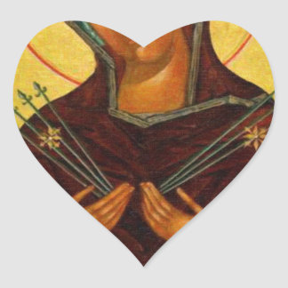 Eastern Orthodox Iconography the mother Heart Sticker