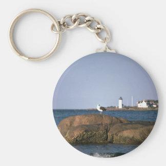 Eastern Point lighthouse, Gloucester, Massachusett Key Ring