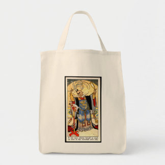"Eastern Proverb Grocery Bag ""Fool Admire"""