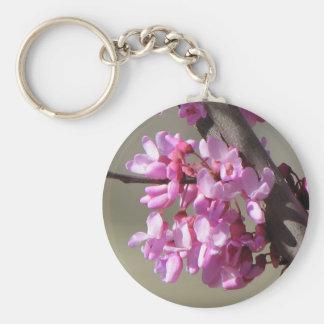 Eastern Redbud  Blooms Key Ring