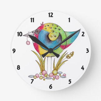 'Eastern Rosella' Clock