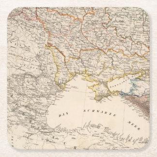 Eastern Russia Square Paper Coaster