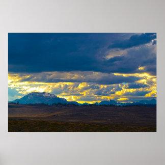 Eastern Sierra Nevada HDR Poster