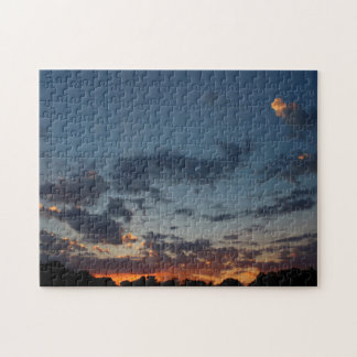 Eastern Sunrise Sky and Clouds Summer 2016 Jigsaw Puzzle