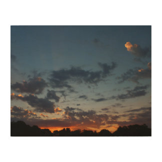 Eastern Sunrise Sky and Clouds Summer 2016 Wood Wall Decor