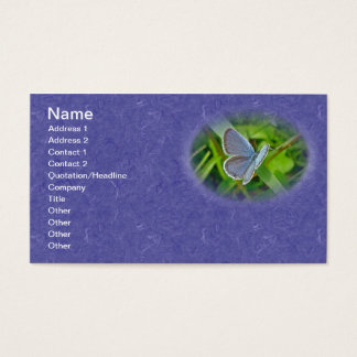 Eastern Tailed Blue Butterfly Business Card