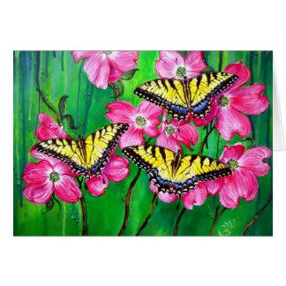 Eastern Tiger Swallowtail Butterflies Card