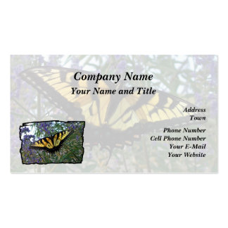 Eastern Tiger Swallowtail Butterfly Business Card Templates