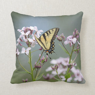 Eastern tiger swallowtail butterfly cushion