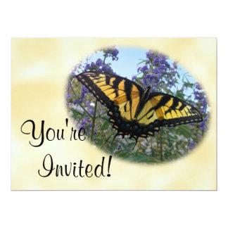 Eastern Tiger Swallowtail Butterfly 17 Cm X 22 Cm Invitation Card