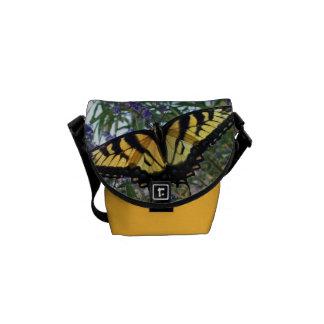 Eastern Tiger Swallowtail Butterfly Messenger Bag