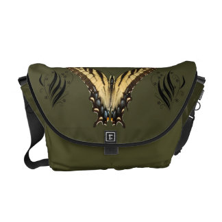 Eastern Tiger Swallowtail Butterfly messengerbag Courier Bag