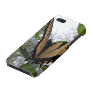 Eastern Tiger Swallowtail Butterfly on White Lilac Case For The iPhone 5