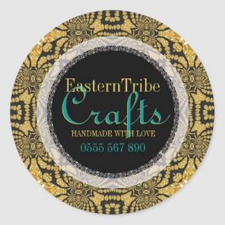 Eastern Tribal Sparkle Business Product Sticker