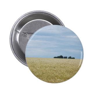 Eastern Washington Wheat Field Pinback Buttons