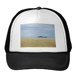 Eastern Washington Wheat Field Mesh Hat