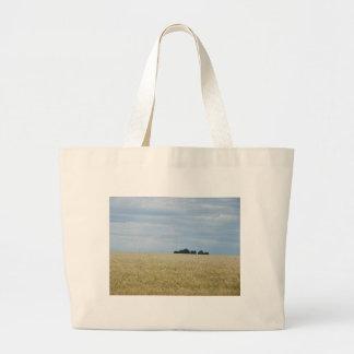 Eastern Washington Wheat Field Jumbo Tote Bag