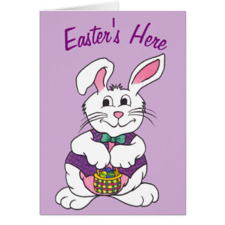 Easter's Here - Greeting Card