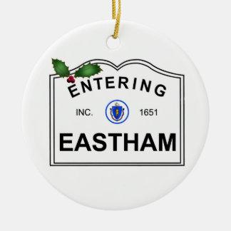 Eastham MA Ceramic Ornament