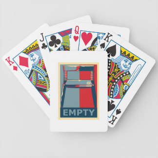 Eastwooding the Obama Chair Funny Political Poker Deck