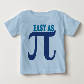 Easy As Pi Baby T-Shirt