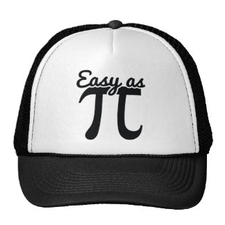 Easy As Pi Cap