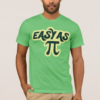 Easy as Pi Day T-Shirt