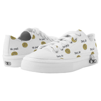 Easy As Pi Low Tops