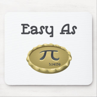 Easy As Pi Mouse Pad