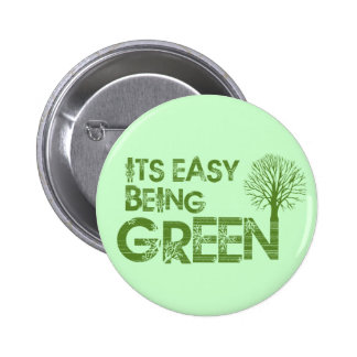 Easy being green pin