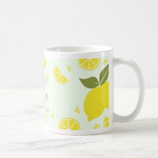 Easy Breezy Lemon Squeezy Coffee Mug