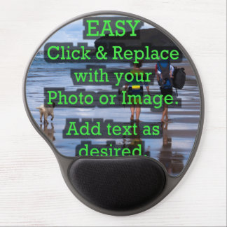 Easy Click & Replace Image to Create Your Own Gel Mouse Pad