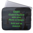 Easy Click & Replace Image to Create Your Own Laptop Sleeve