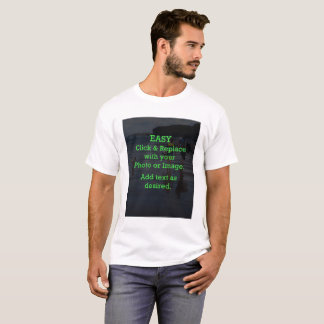 Easy Click & Replace Image to Create Your Own T-Shirt
