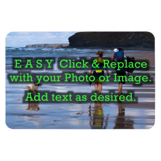 Easy Click to Create Your Own Horizontal Magnet
