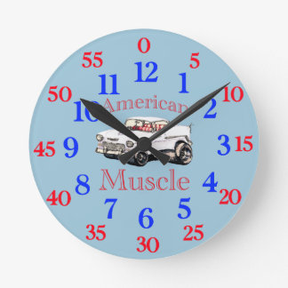 Easy read clock 55 chevy