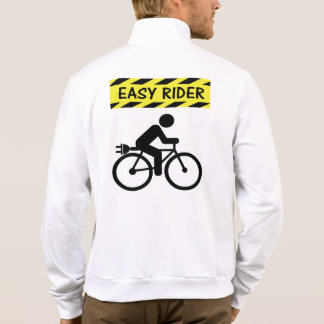 """Easy rider"" ebike cycling jackets for men"