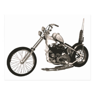 Easy Rider Motorcycle - Hollywood Chopper Card