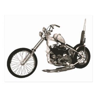 Easy Rider Motorcycle - Hollywood Chopper Card Postcard