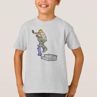 Easy Skateboard Tricks Skateboarding Fun T-Shirt