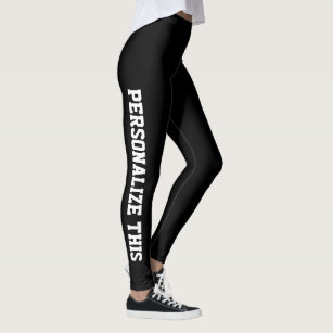Easy to Design Your Own Personalized Custom Made Leggings 042de90700f8d
