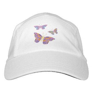 Easy to love technicolor butterflies cap