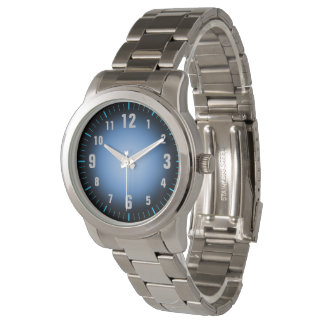Easy To Read - Blue Black Fade - Oversize Watch