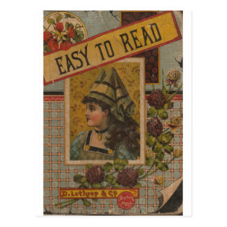 Easy To Read Postcard