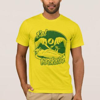 Eat a Cockatoo (Green & Gold) T-Shirt