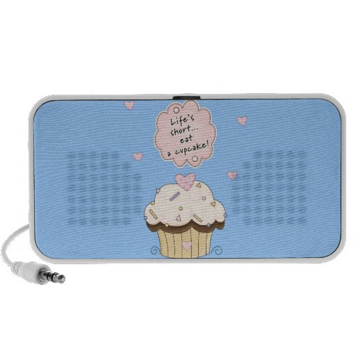 Eat a Cupcake Portable Speakers