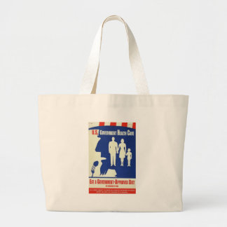 Eat a Government Approved-Diet Jumbo Tote Bag