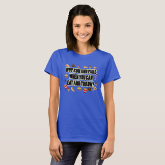 Eat and Throw- Shot Put Discus Throw Shirt