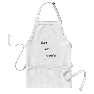 Eat at Joe's Standard Apron