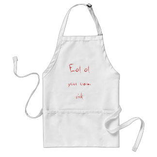 Eat at your own risk standard apron